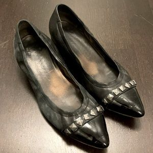 AGL Studded Pointed Flats